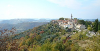 Beautiful Istria - Draguc in autumn