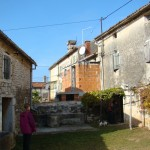 Nicky with barn & house in Kastelir, Istria