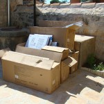 Just a few of the rubbish boxes from Kovaci, Istria