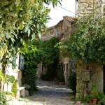Gorgeous street in Groznjan, Istria
