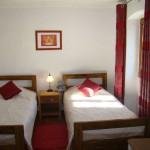 finished twin bedroom in Kovaci, Istria