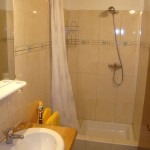 finished 1st floor shower-room, in Kovaci, Istria