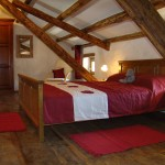 finished master bedroom in Kovaci, Istria