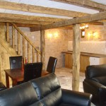 downstairs of barn furnished, Kovaci, Istria