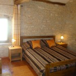 furnished double bedroom in Kovaci, Istria