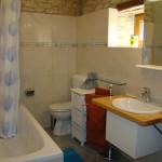 finised bathroom in Kovaci, Istria