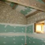 bathroom ready for tiling in Kovaci, Istria