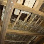 barn ceiling in Kovaci, Istria