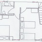 Planned layout for barn upstairs, Kovaci, Istria