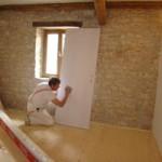 Painting begins in Kovaci, Istria