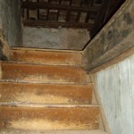 stairs up to master bedroom in Kovaci, Istria