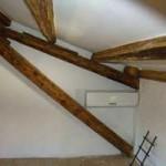 airco unit in attic in Kovaci, Istria