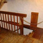 railings, foldable step and rope for attic safety in Kovaci, Istria