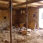 broken up ground floor in barn, Kovaci, Istria