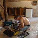 installing kitchen in Kovaci, Istria