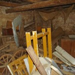 barn in Kovaci, Istria before restoration