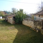 garden before work, Kovaci, Istria