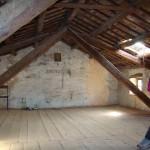 master bedroom in Kovaci, Istria before restoration