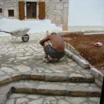 cleaning paving grouting in Kovaci, Istria