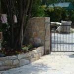 gate in place in Kovaci, Istria