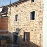 house stripped back to the stone in Kovaci, Istria