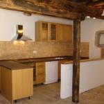 house kitchen in Kovaci, Istria after restoration