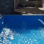 pool filling in Kovaci, Istria