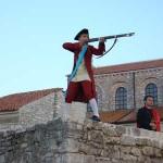 marksman in Iustitia, Porec, Istria