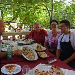 Lunch at Fancita, Vrsar, Istria