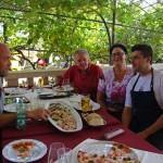 Lunch at Fancita, Vrsar, Istria