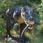 dinosaur at Dinopark, Istria