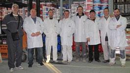 Ante & his team at AM Color, Istria