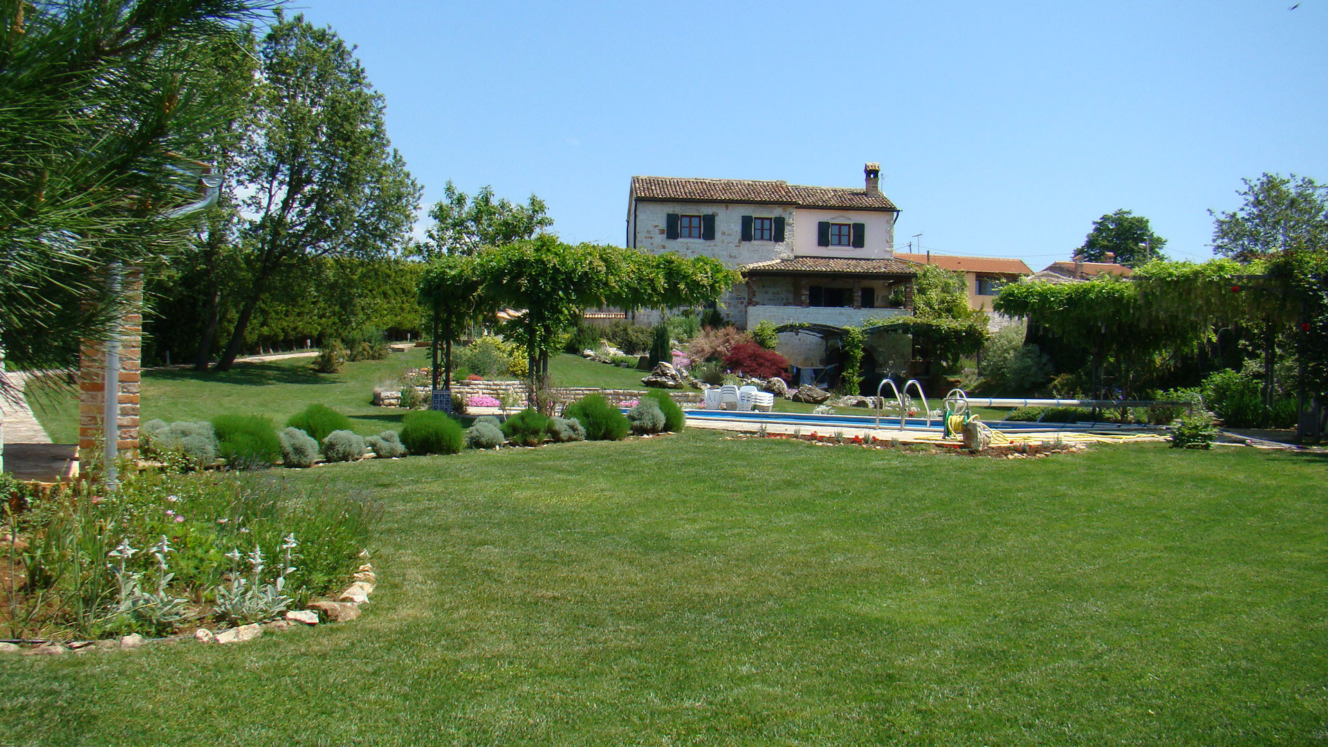 Expat Life English Country Garden Kissed By Istrian Sun