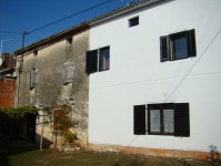 our house and our neighbour's house in Istria