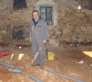 Vlado and his drainage pipes