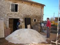 The barn with Toni & Miran in Istria