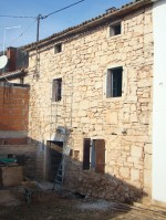 Kovaci house, Istria, in the middle of restoration