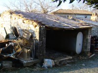Old cart shed, Kovaci, Istria