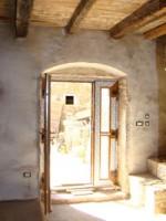 New front door in Kovaci, Istria