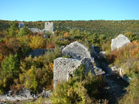 Dvigrad in autumn, Istria