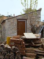 Supa's wood door in Kovaci, Istria