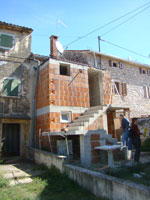 Extension on little house in Kovaci, Istria