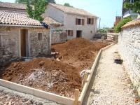 Garden works at Kovaci, Istria