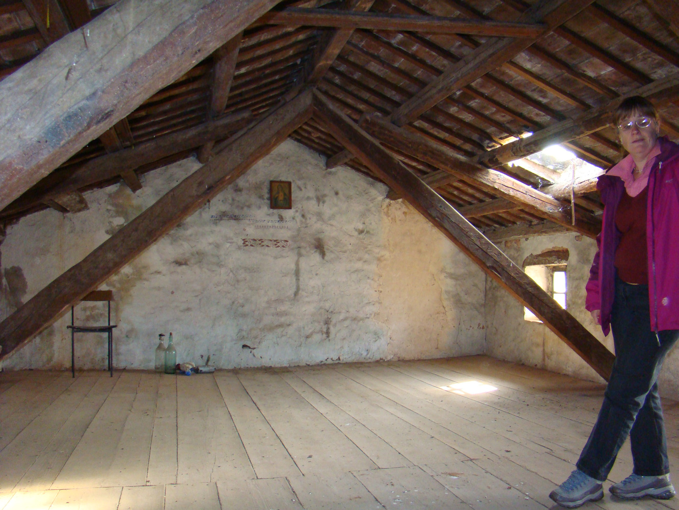 spacious attic in Kovaci, Istria