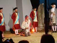 Execution scene, Iustitia, Porec, Istria
