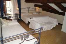 Hotel room in Ca' Riccio, Venice