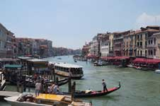 View from the Rialto in Venice