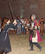Sword fight at Mare the Witch, Istria