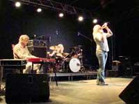 Letz Zep playing at Montraker, Vrsar, Istria