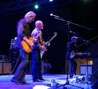 Wishbone Ash playing Montraker, Vrsar, Istria